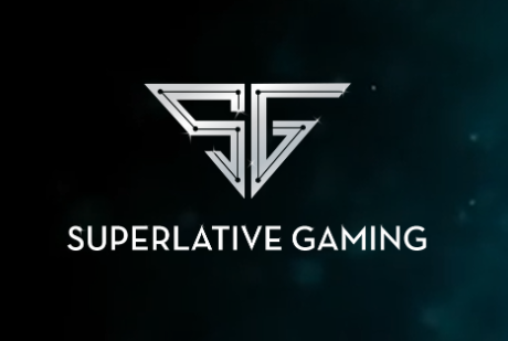 superlative black bg logo